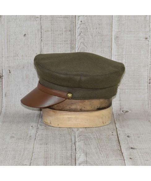 Sapca Model Officer Britanic Kaki