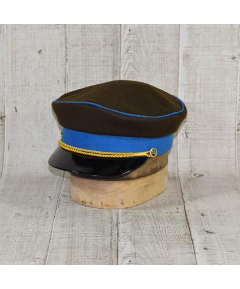 Sapca Model Prusac Kaki Cu Vipusca Royal Blue
