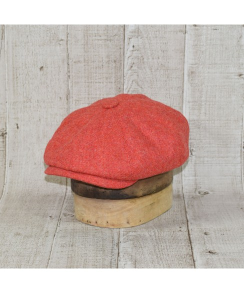 Sapca Model Newsboy Peaky Blinders Light Coral