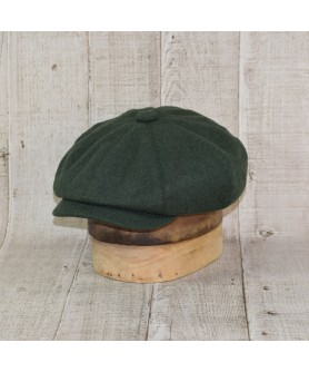 Sapca Model Newsboy Peaky Blinders Dark Green