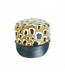 LIMITED EDITION - Chipiu Animal Print Leopard Maro cu Negru