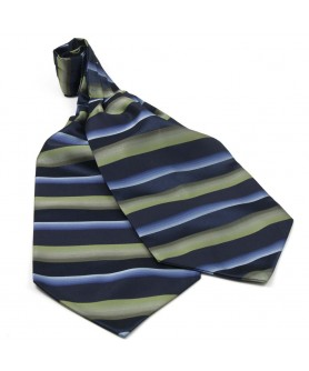 Ascot Verde cu Bleumarin