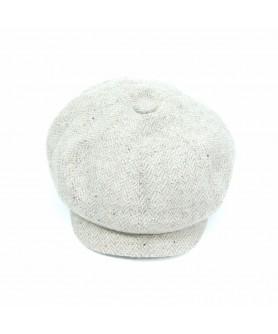 Beige Gavroche Cap Model (Peaky Blinders)