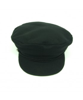 Black Greekfish Cap John Lennon Model