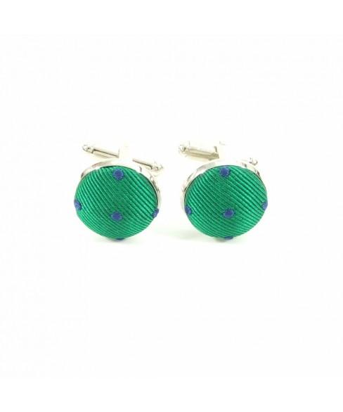 Butoni Verde cu Albastru