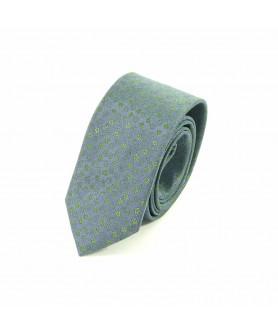 Cravata Bleu cu Verde