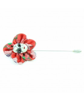 Red and Green Lapel Pin