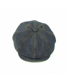 Jeans Denim Gavroche Cap Model (Peaky Blinders)