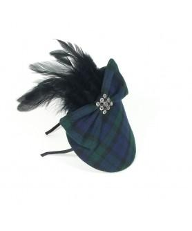 Tartan Mackenzie Feathers with Blue Green