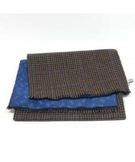 Fular Tweed Maro cu Bej - Colectia Ralitza Luxury