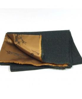 Fular Verde cu Negru - Colectia Ralitza Luxury