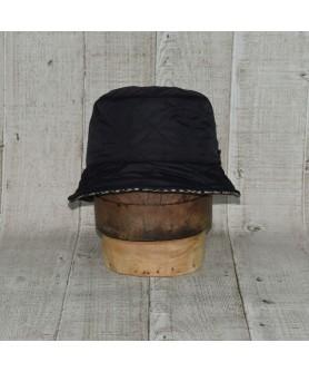 Palarie Model Bucket Fas Hidrofob Matlasat Negru