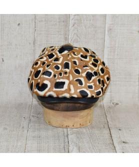 Sapca Model Gavroche Print Leopard